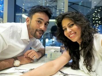 Q1_Husain and I at a tasting
